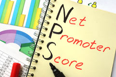 NPS-Netz-Fördererergebnis Lizenzfreie Stockfotografie