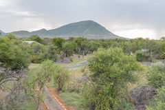 Nqweba Camp as seen from the game viewing platform Royalty Free Stock Photography
