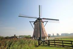 Nr ветрянки 1 в системе Molenviergang ветрянки в Zevenhuizen, Нидерланды Стоковое фото RF