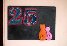 Nr. 25 Stockfotos