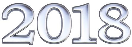Nr. 2018 vektor abbildung