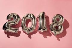 Nr. 2018, als das neue Jahr Lizenzfreies Stockbild