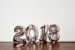 Nr. 2018, als das neue Jahr Stockfoto