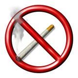 Nr dat - rookt stock illustratie