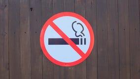 Nr dat - rookt royalty-vrije stock foto