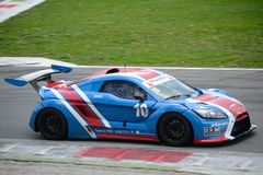 Nr de voiture de tasse de Lamera 10 - Monza 2014 8 heures de course Photo libre de droits