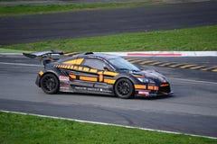 Nr del coche de la taza de Lamera 1 - Monza 2014 8 horas de raza Fotos de archivo libres de regalías