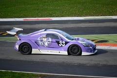 Nr del coche de la taza de Lamera 33 - Monza 2014 8 horas de raza Foto de archivo