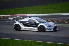 Nr del coche de la taza de Lamera 31 - Monza 2014 8 horas de raza Imágenes de archivo libres de regalías