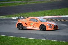 Nr del coche de la taza de Lamera 2 - Monza 2014 8 horas de raza Foto de archivo