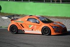 Nr del coche de la taza de Lamera 2 - Monza 2014 8 horas de raza Imágenes de archivo libres de regalías