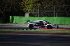 Nr del coche de la taza de Lamera 8 - Monza 2014 8 horas de raza Fotos de archivo