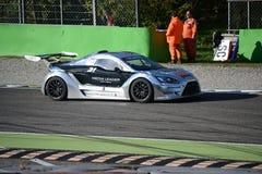 Nr del coche de la taza de Lamera 31 - Monza 2014 8 horas de raza Foto de archivo