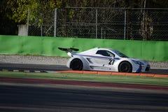 Nr del coche de la taza de Lamera 27 - Monza 2014 8 horas de raza Imagen de archivo libre de regalías
