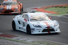 Nr del coche de la taza de Lamera 29 - Monza 2014 8 horas de raza Fotos de archivo