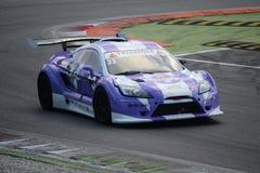 Nr del coche de la taza de Lamera 33 - Monza 2014 8 horas de raza Fotografía de archivo