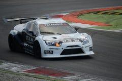 Nr del coche de la taza de Lamera 7 - Monza 2014 8 horas de raza Imagen de archivo