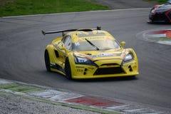 Nr del coche de la taza de Lamera 16 - Monza 2014 8 horas de raza Fotografía de archivo libre de regalías
