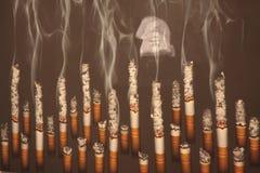 Nr die - roken Royalty-vrije Stock Fotografie
