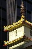 nr. för 2 chinatown Arkivbilder