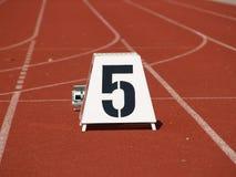 Nr. fünf Lizenzfreie Stockfotografie