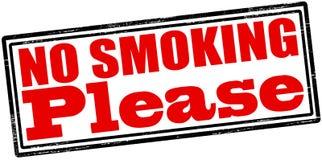 Nr - gelieve te roken Stock Afbeelding