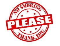 Nr - gelieve te roken Stock Foto
