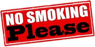 Nr - gelieve te roken Stock Afbeeldingen