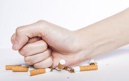 Nr - het roken concept Stock Foto's