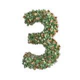 Nr. 3 machte von den Eurobanknoten lizenzfreie abbildung