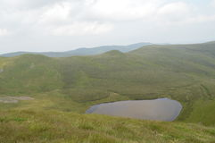 Nr Pistyll Rhaeadr delle montagne di Berwyn Fotografie Stock Libere da Diritti