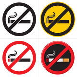 Nr. - röka Royaltyfri Foto
