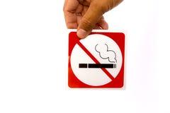 Nr - rokend symbool Royalty-vrije Stock Afbeeldingen