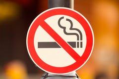 Nr - rokend Teken Royalty-vrije Stock Afbeeldingen