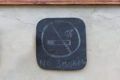 Nr - rokende tekens Stock Afbeeldingen