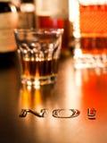 Nr. zum alkoholischen Getränk Lizenzfreie Stockfotos