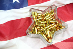 NRA candy dish Royalty Free Stock Image