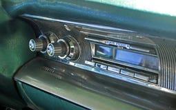Radio casette mustang stock image