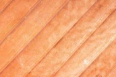 Närbild av wood plankatextur för teakträ Royaltyfria Bilder