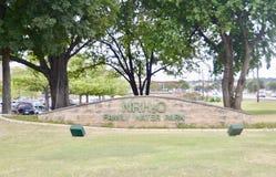 NRH2O-vatten parkerar, norr Richland kullar, Texas Fotografering för Bildbyråer