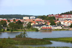Europa liten stad Arkivbilder