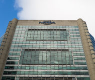 The nrma headquarters in the Sydney central district business. Nrma is a home and car inssurance company Stock Photo