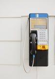 Nrthern-Telekommunikations-Münztelefon Lizenzfreie Stockfotografie