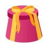 Närvarande illustration för vektor för gåvaaskar Royaltyfri Foto