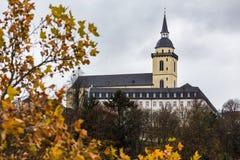 Nrw Германия Siegburg в осени стоковые фото