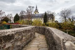 Nrw Германия Siegburg в осени стоковые изображения
