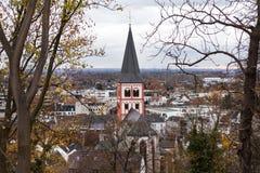Nrw Германия Siegburg в осени стоковое фото rf