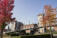 Nrw Alemanha da cidade de Gronau fotos de stock