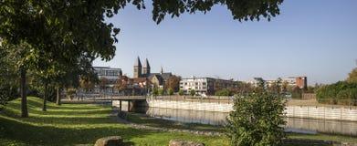 Nrw Alemanha da cidade de Gronau foto de stock royalty free