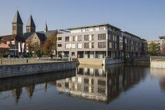 Nrw Alemanha da cidade de Gronau fotos de stock royalty free
